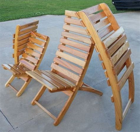 Outdoor Wood Folding Chair Plans