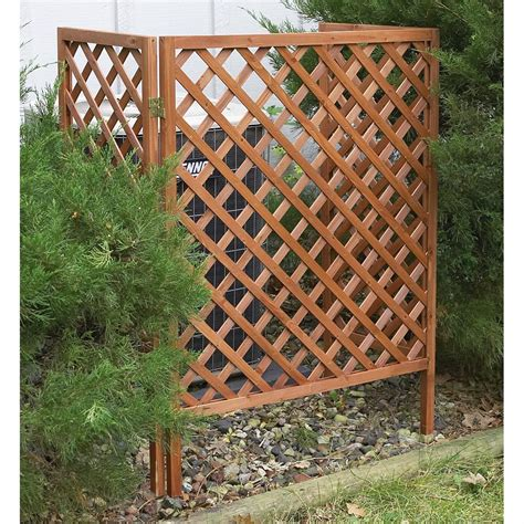 Outdoor Wood Lattice Screens