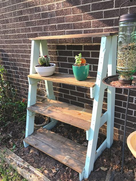 Outdoor Wood Plant Stand Diy Wood