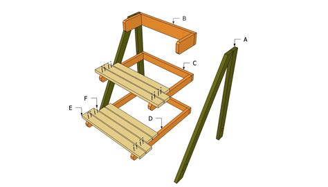 Outdoor Wood Plant Stand Plans