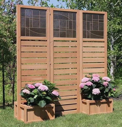 Outdoor Wood Privacy Screen Plans For Chicken