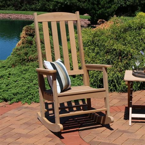 Outdoor Wood Rocker Plans