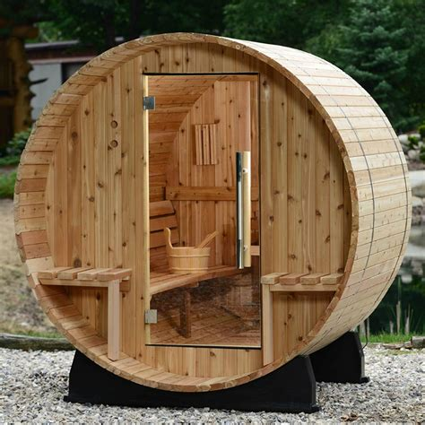 Outdoor Wood Sauna Diy Kit