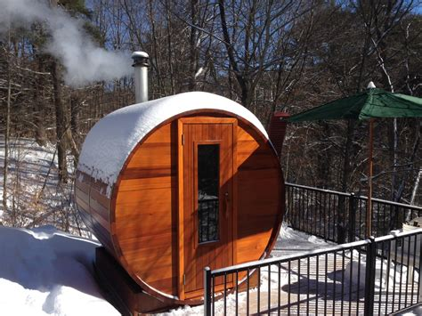 Outdoor Wood Sauna Kit