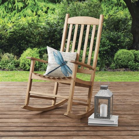 Outdoor Wooden Rocker Plans