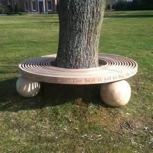 Outdoor-Bench-Circular-Tree-Plans