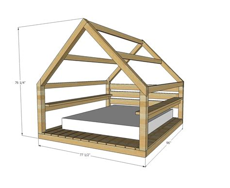 Outdoor-Cabana-Bed-Plans