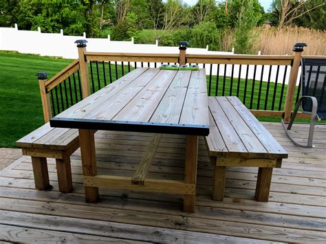 Outdoor-Farm-Table-And-Bench