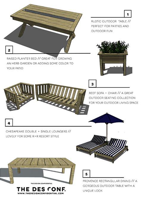 Outdoor-Furniture-Building-Plans
