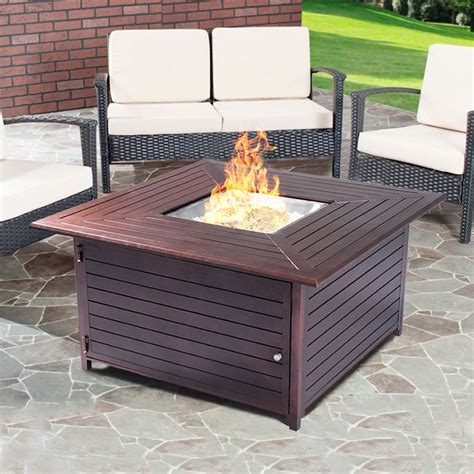 Outdoor-Gas-Fire-Pit-Table-Plans