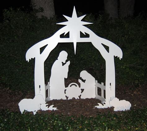 Outdoor-Nativity-Manger-Woodworking-Plans