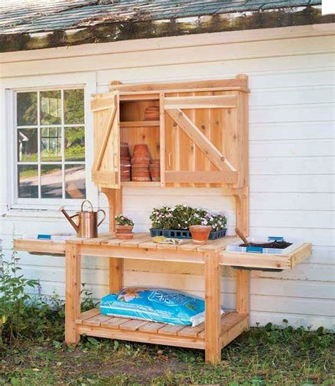 Outdoor-Potting-Bench-Plans