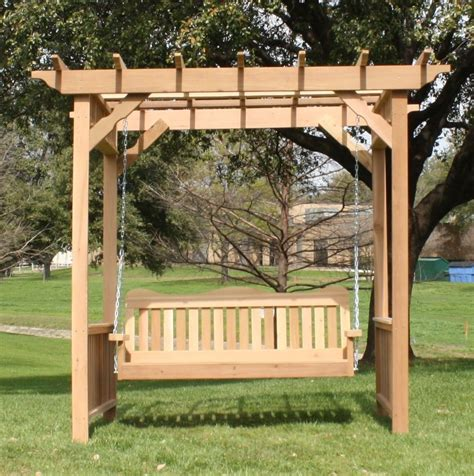 Outdoor-Swing-And-Arbor-Plans