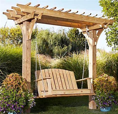 Outdoor-Swing-Pergola-Plans