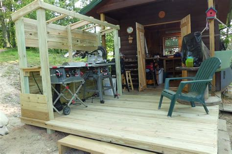 Outdoor-Woodworking-Shop