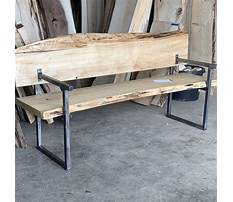 Best Outdoor bench plans with back and arms