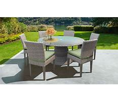 Best Outdoor chair with table