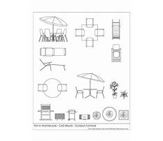 Best Outdoor furniture cad drawings