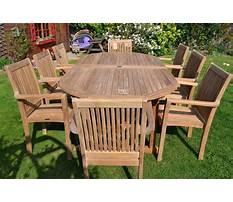 Best Outdoor wood furniture
