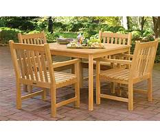 Best Outdoor wooden deck furniture