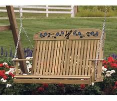 Best Outdoor wooden swing ohio