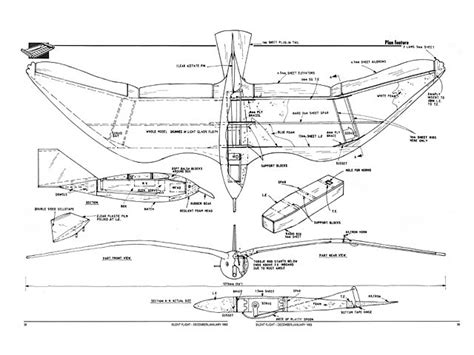 Outerzone-Rc-Glider-Plans