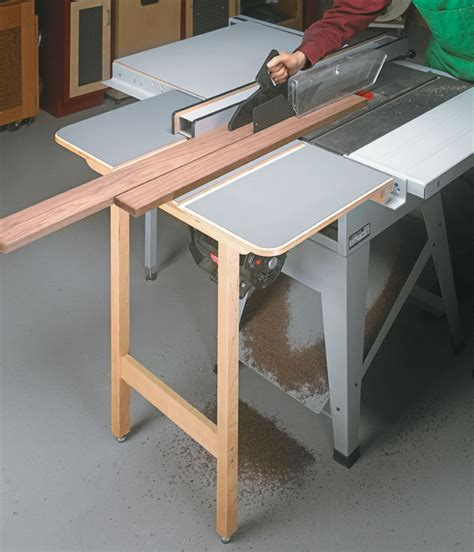Outfeed Table Plans For Table Saw