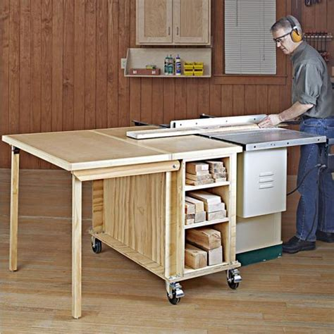 Outfeed Table Plans Wood Magazine