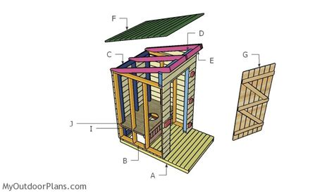 Outhouse-Plans-And-Material-List