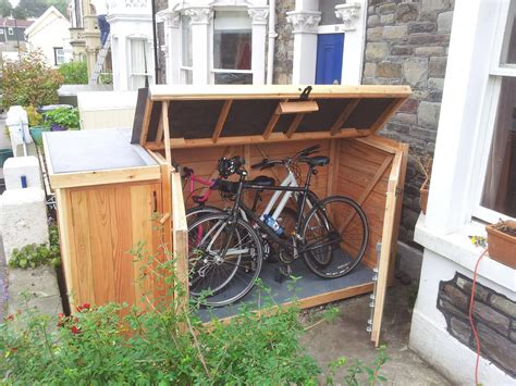 Outside Bike Storage Diy Shelves
