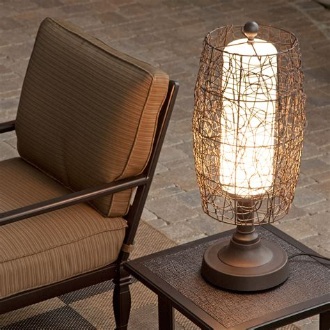 Outside Patio Table Lamps