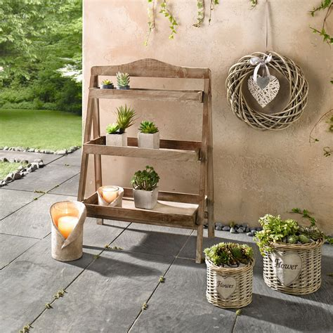 Outside Wood Plant Stands