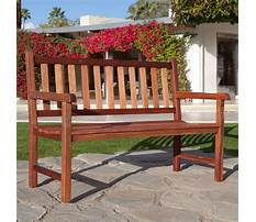 Best Outside benches with backs