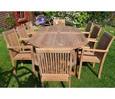 Best Outside wood furniture