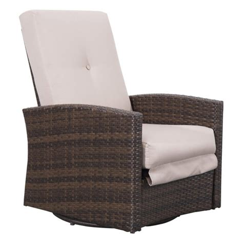 Outsunny Wicker Recliner