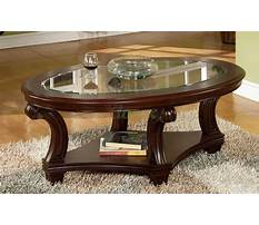 Best Oval coffee tables wood and glass