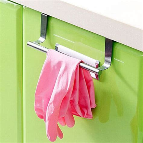 Over The Cabinet Door Kitchen Towel Holder
