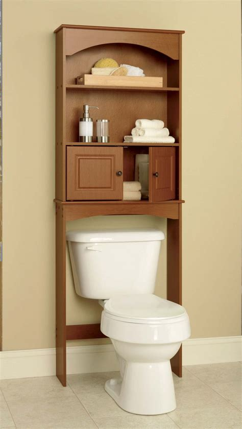Over The Toilet Cabinet Space Saver Oak Island