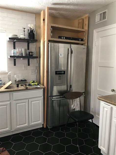 Over-Refrigerator-Cabinet-Diy
