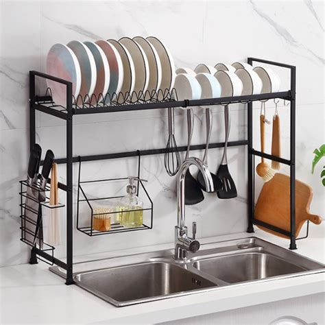 Over-The-Sink-Dish-Drying-Rack-Diy