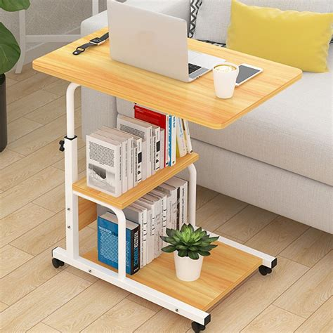 Overbed Rolling Table Diy With Shelf