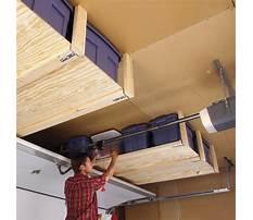 Best Overhead garage storage plans free