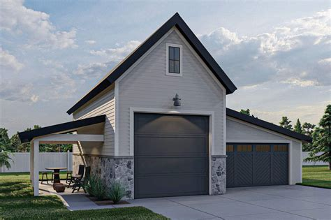 Oversized Detached Garage Plans