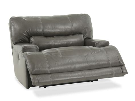 Oversized Recliner Chair Gray