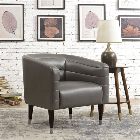 Overstock Leather Accent Chair