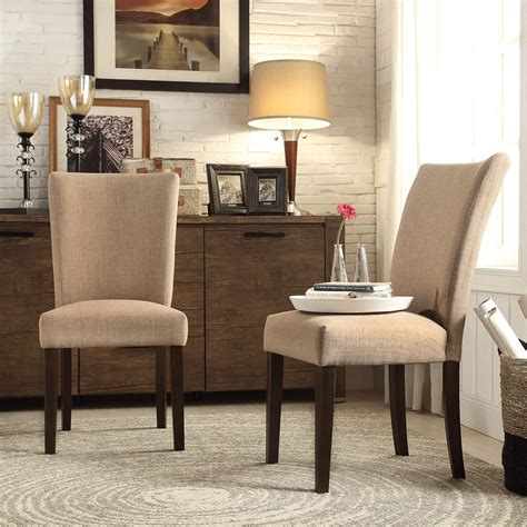 Overstock Linen Dining Chair
