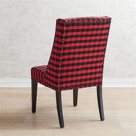 Owen Balck And Red Dining Chair