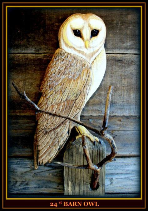 Owl Wood Carving Plans