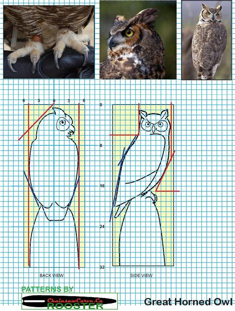 Owl-Carving-Plans