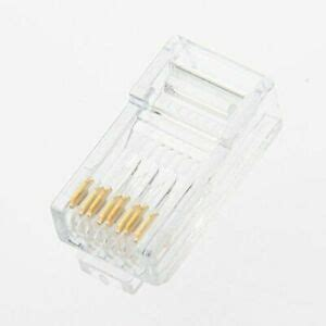 PANDUIT MP588-L MODULAR PLUG, CAT5E, UTP, 8POS, 1 PORT